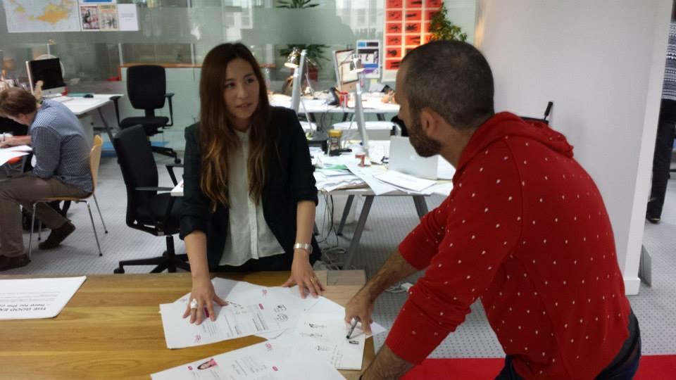 照片來源:Jessica 在英國奧美數位的工作情景